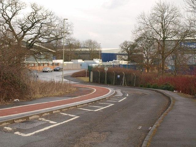 Service road, Quedgeley