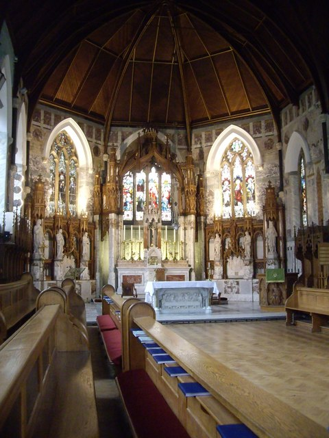 The High Altar, St Mary's Blairs