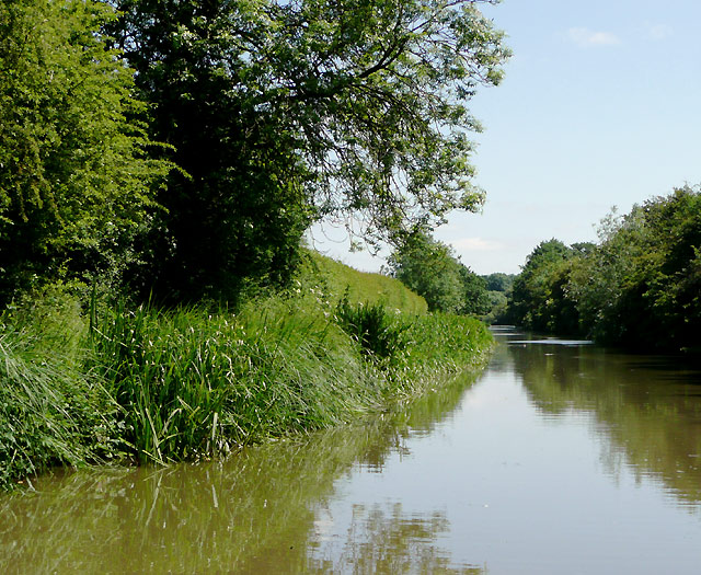 The Ashby Canal north of Bulkington, Warwickshire