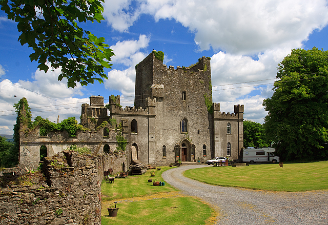 Castles of Leinster: Leap, Offaly