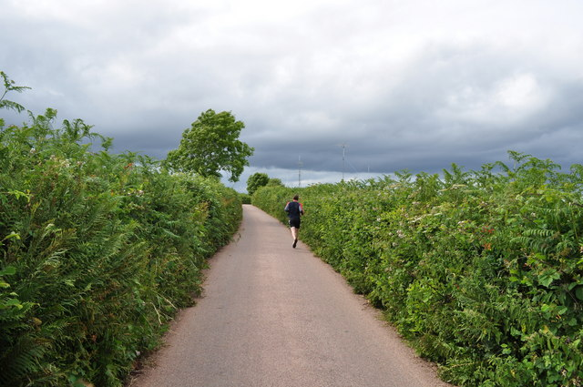 Mid Devon : Countryside Road & Jogger