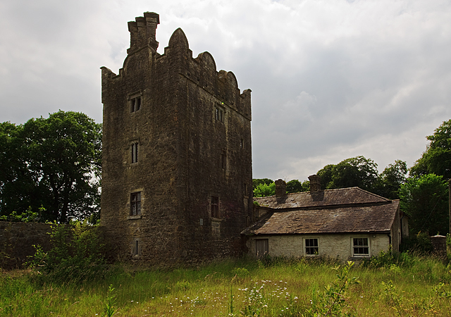 Castles of leinster grange kildare mike searle cc by for Kildare castle
