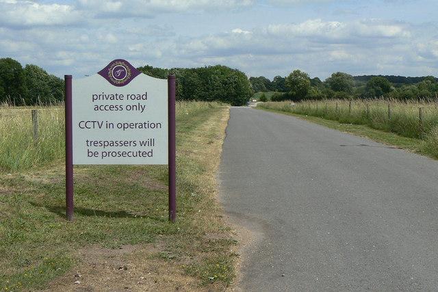 Lane to Goosedale Farm