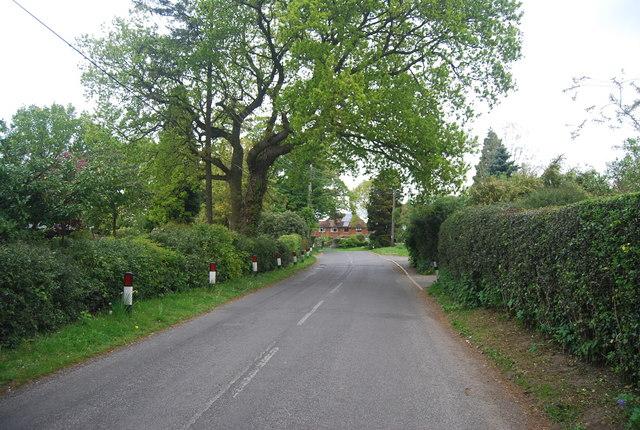 Treemans Rd entering Horsted Keynes