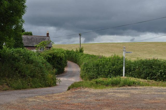 Mid Devon : Seven Crosses Road Junction