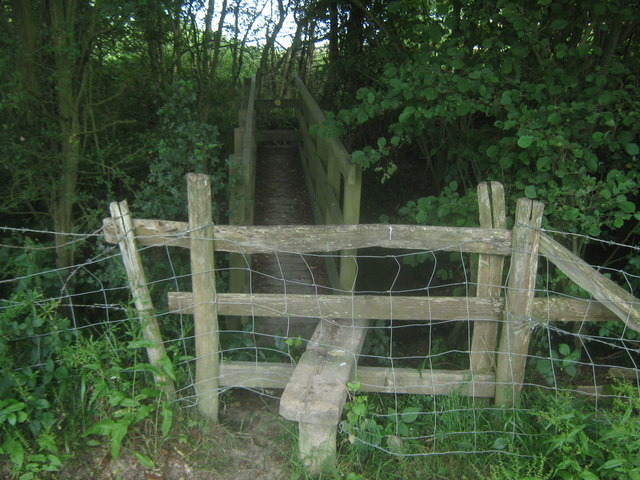 Footbridge near Jones's Wood