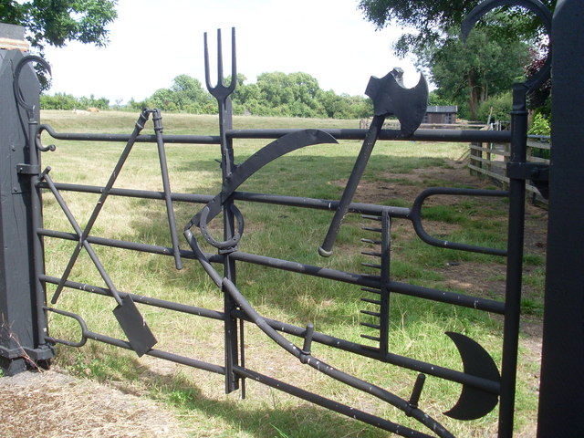 The Implement Gate, Marsworth