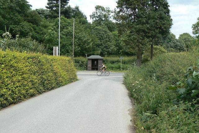 Bus stop, Lamins Lane