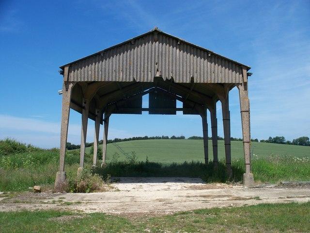 Barn on the ridge