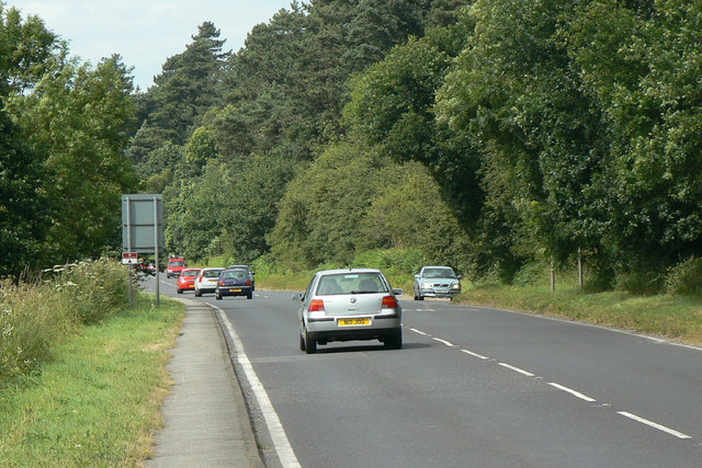 A60 Nottingham - Mansfield road
