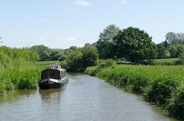 The Ashby Canal near Bramcote, Warwickshire