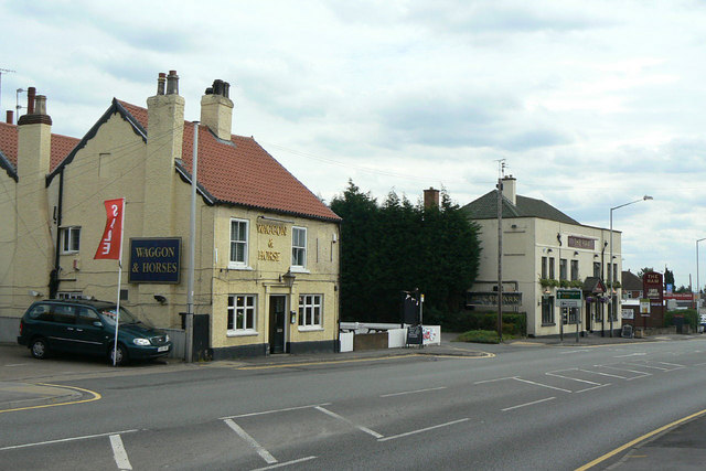 Two pubs at Redhill