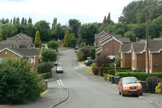 Georgia Drive, near Lodge Farm Lane
