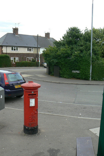 Redhill Post Office postbox Ref NG5 417