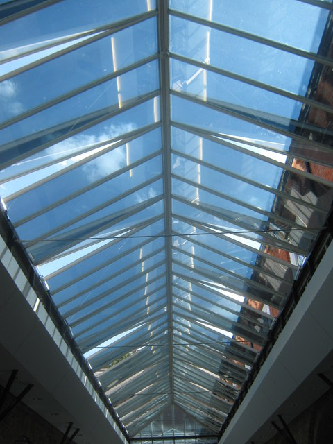 Glass Roof in the Pilkington Building