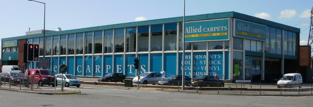 Former Allied Carpets superstore, Cardiff