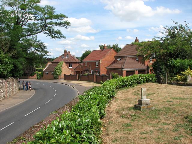 Houses in Eaton Street, Cringleford