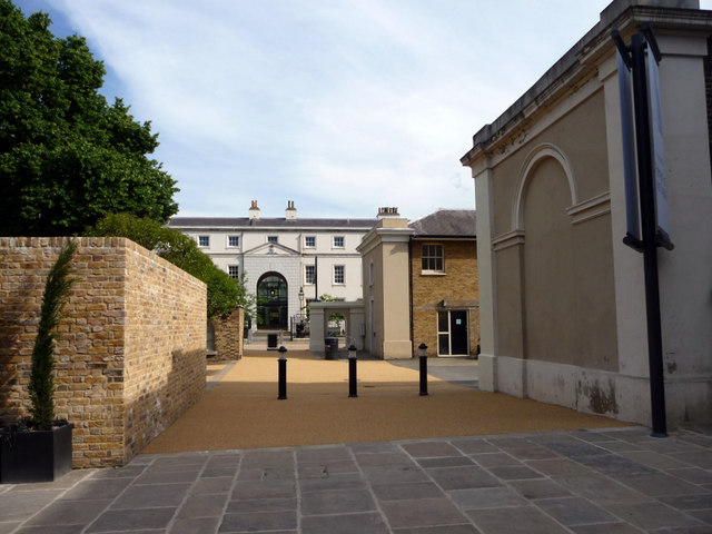 Entrance to the Old Brewery, Greenwich