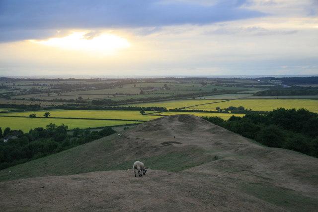 View from Burton Dassett Hills Country Park