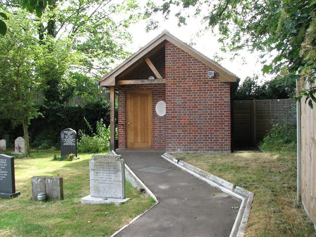 St Peter's church in Cringleford - the vestry