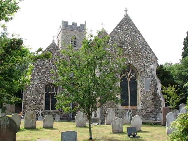 St Peter's church in Cringleford