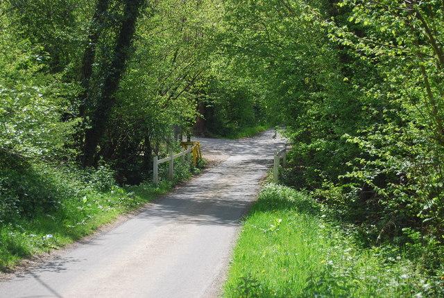 Jackies Lane: southwestwards
