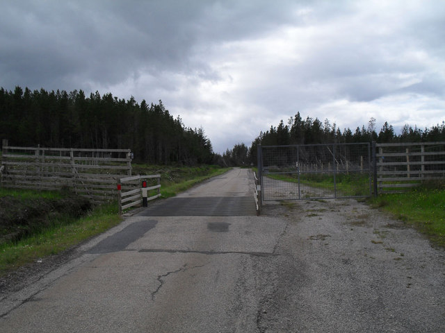 Cattle grid near the Crask
