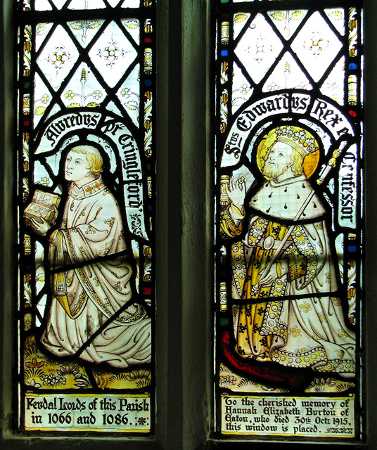 St Peter's church in Cringleford - Victorian stained glass