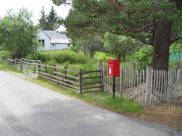 Coldest Post Box in Britain!