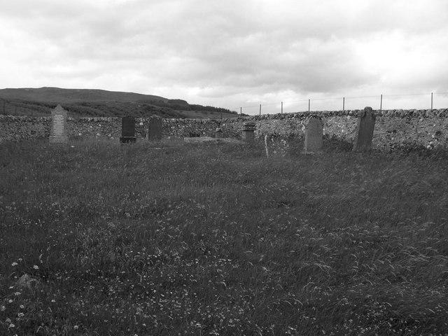 Graveyard by Loch Naver