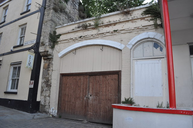 Site of the Electric Picture Hall, Chepstow