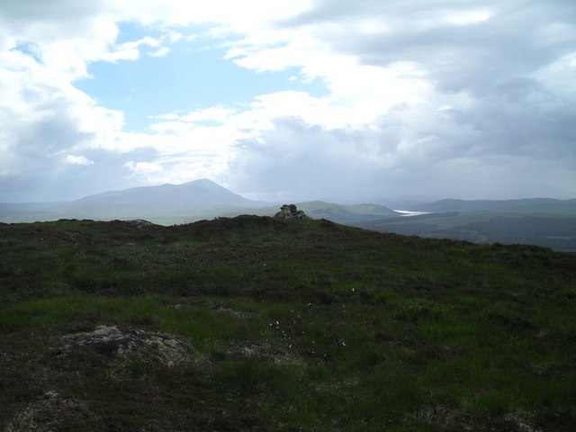 The Summit of Beinn Rosail