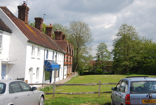 Cottages on the Village Green, Newick