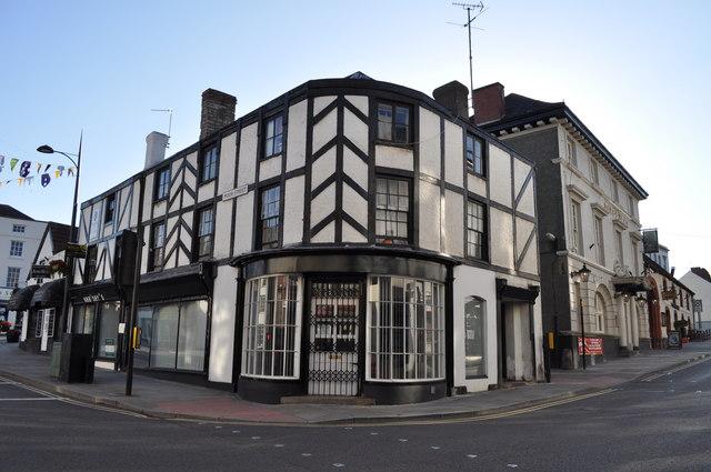 Junction of Moor Street & Welsh Street