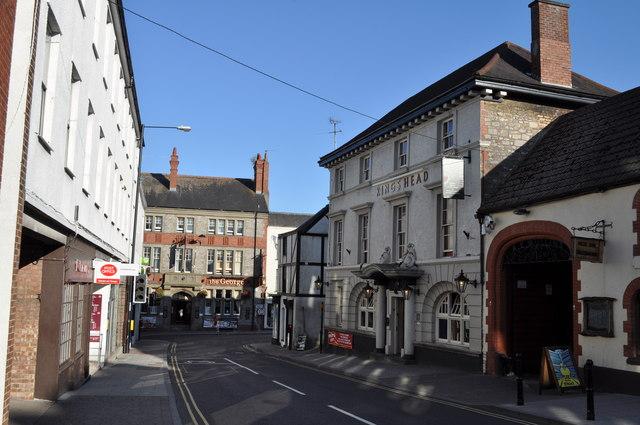 Looking down Welsh Street