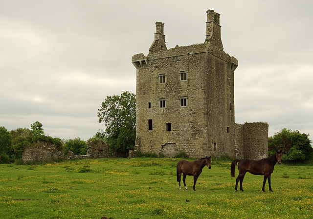 Castles of Connacht: Derryhivenny, Galway