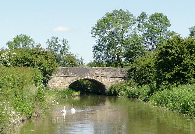 Bramcote Road Bridge near Bramcote, Warwickshire