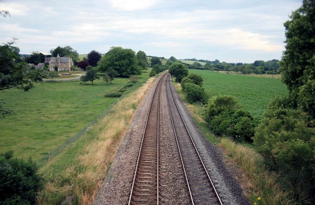 The Westbury to Salisbury Railway