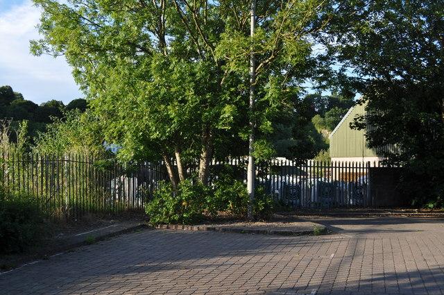 Corner of Castle car park