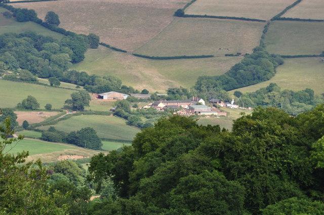 Mid Devon : Farm on Holwell Lane