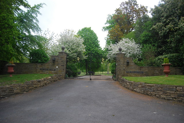 Gates of The Old Rectory, Church Lane