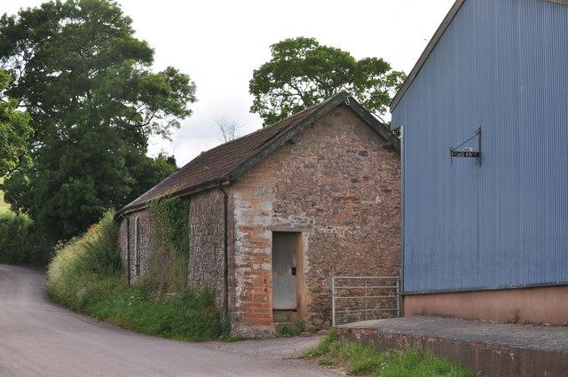 Mid Devon : Seven Crosses Road & Ford Farm