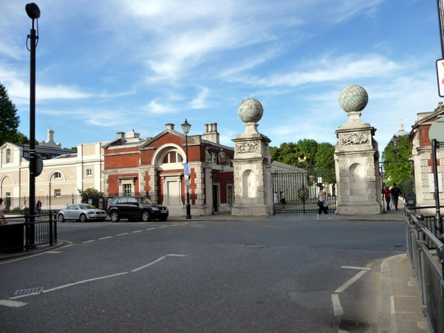 Gateway to Old Royal Naval College, Greenwich