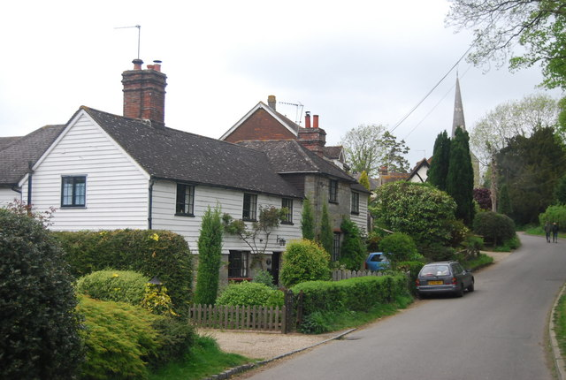 Weatherboarded Cottages, Church Lane
