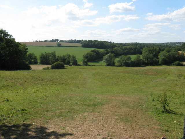 View NW across the River Uck valley