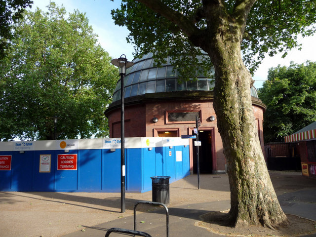 Entrance to Greenwich Foot Tunnel