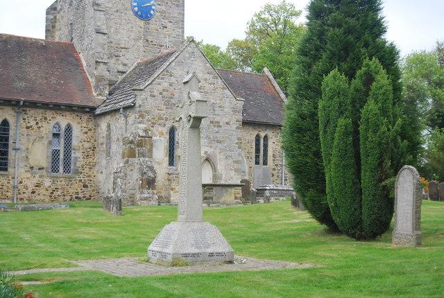War Memorial, St Giles Church, Horsted Keynes