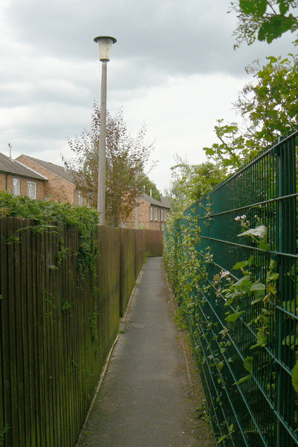 Urban footpath