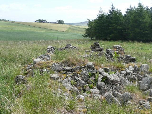 Ruined steading of Watersheal