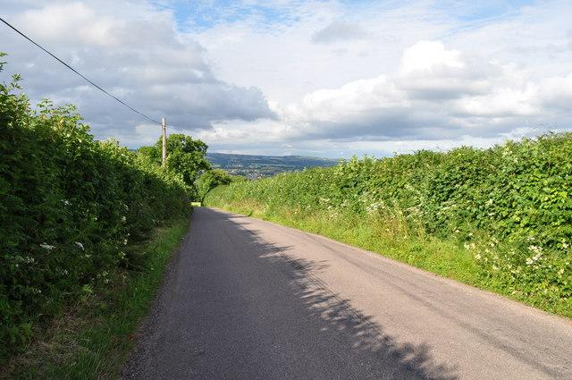 Mid Devon : Seven Crosses Road